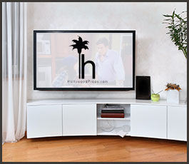 TV with Logo